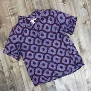 Banjanan lightweight printed cotton top